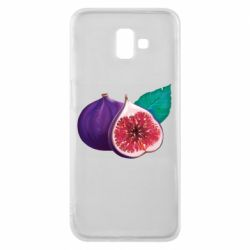 Чехол для Samsung J6 Plus 2018 Fruit Fig