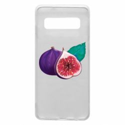 Чехол для Samsung S10 Fruit Fig
