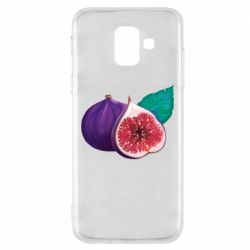 Чехол для Samsung A6 2018 Fruit Fig