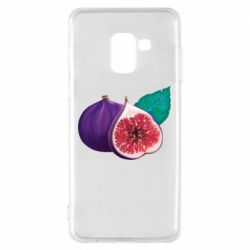 Чехол для Samsung A8 2018 Fruit Fig