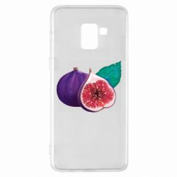 Чехол для Samsung A8+ 2018 Fruit Fig