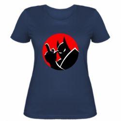 Жіноча футболка Fuck Batman