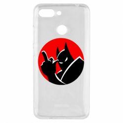 Чехол для Xiaomi Redmi 6 Fuck Batman