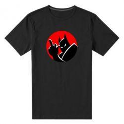 Чоловіча стрейчева футболка Fuck Batman
