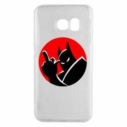 Чохол для Samsung S6 EDGE Fuck Batman
