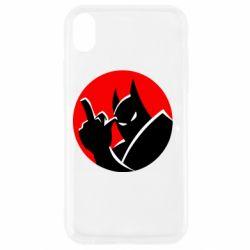 Чохол для iPhone XR Fuck Batman