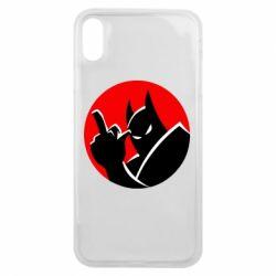 Чохол для iPhone Xs Max Fuck Batman