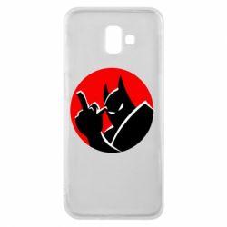 Чохол для Samsung J6 Plus 2018 Fuck Batman