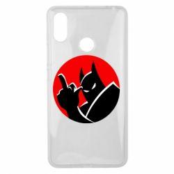 Чехол для Xiaomi Mi Max 3 Fuck Batman