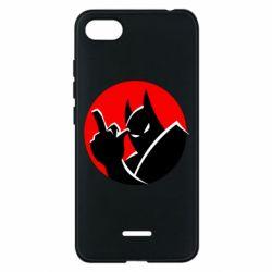 Чехол для Xiaomi Redmi 6A Fuck Batman