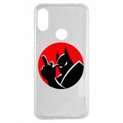 Чехол для Xiaomi Redmi Note 7 Fuck Batman