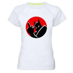 Жіноча спортивна футболка Fuck Batman