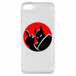 Чохол для iphone 5/5S/SE Fuck Batman
