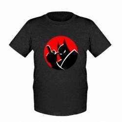 Дитяча футболка Fuck Batman