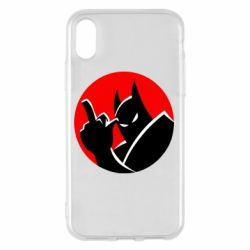 Чохол для iPhone X/Xs Fuck Batman