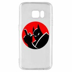 Чохол для Samsung S7 Fuck Batman