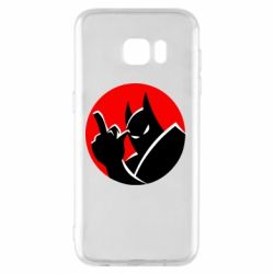 Чохол для Samsung S7 EDGE Fuck Batman
