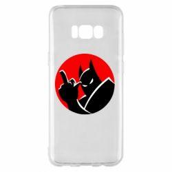 Чохол для Samsung S8+ Fuck Batman