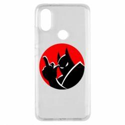 Чехол для Xiaomi Mi A2 Fuck Batman