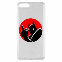 Чехол для Xiaomi Mi Note 3 Fuck Batman