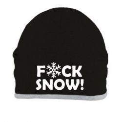 Шапка FUCK SNOW - FatLine