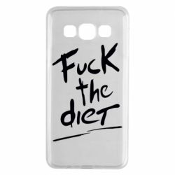 Чехол для Samsung A3 2015 Fuck the diet