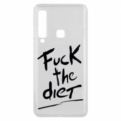 Чехол для Samsung A9 2018 Fuck the diet