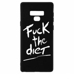 Чехол для Samsung Note 9 Fuck the diet