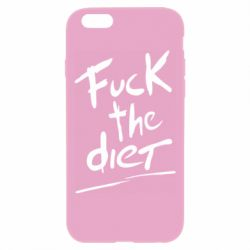 Чехол для iPhone 6 Plus/6S Plus Fuck the diet