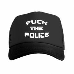 Кепка-тракер Fuck The Police К черту полицию - FatLine