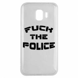 Чохол для Samsung J2 2018 Fuck The Police До біса поліцію