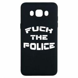 Чохол для Samsung J7 2016 Fuck The Police До біса поліцію