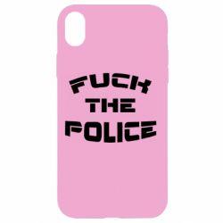 Чохол для iPhone XR Fuck The Police До біса поліцію