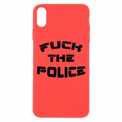Чохол для iPhone Xs Max Fuck The Police До біса поліцію