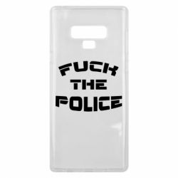 Чохол для Samsung Note 9 Fuck The Police До біса поліцію