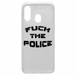Чохол для Samsung A40 Fuck The Police До біса поліцію