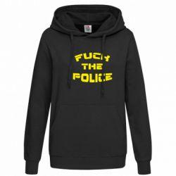 Женская толстовка Fuck The Police К черту полицию - FatLine