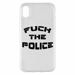 Чохол для iPhone X/Xs Fuck The Police До біса поліцію