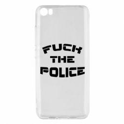 Чохол для Xiaomi Mi5/Mi5 Pro Fuck The Police До біса поліцію