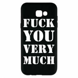 Чехол для Samsung A7 2017 Fuck you very much