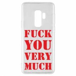 Чехол для Samsung S9+ Fuck you very much