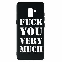 Чохол для Samsung A8+ 2018 Fuck you very much