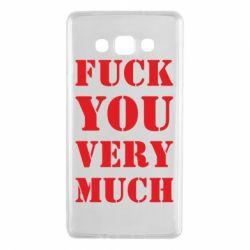 Чехол для Samsung A7 2015 Fuck you very much