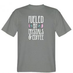 Футболка Fueled by crystals coffee