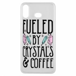 Купить Чехол для Samsung A6s Fueled by crystals coffee, FatLine