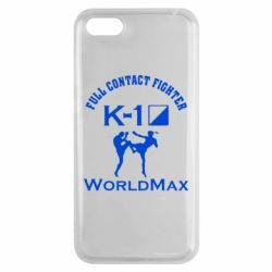 Чехол для Huawei Y5 2018 Full contact fighter K-1 Worldmax - FatLine