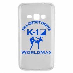 Чехол для Samsung J1 2016 Full contact fighter K-1 Worldmax - FatLine
