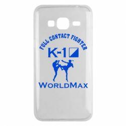 Чехол для Samsung J3 2016 Full contact fighter K-1 Worldmax - FatLine