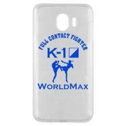 Чехол для Samsung J4 Full contact fighter K-1 Worldmax - FatLine