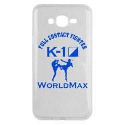 Чехол для Samsung J7 2015 Full contact fighter K-1 Worldmax - FatLine